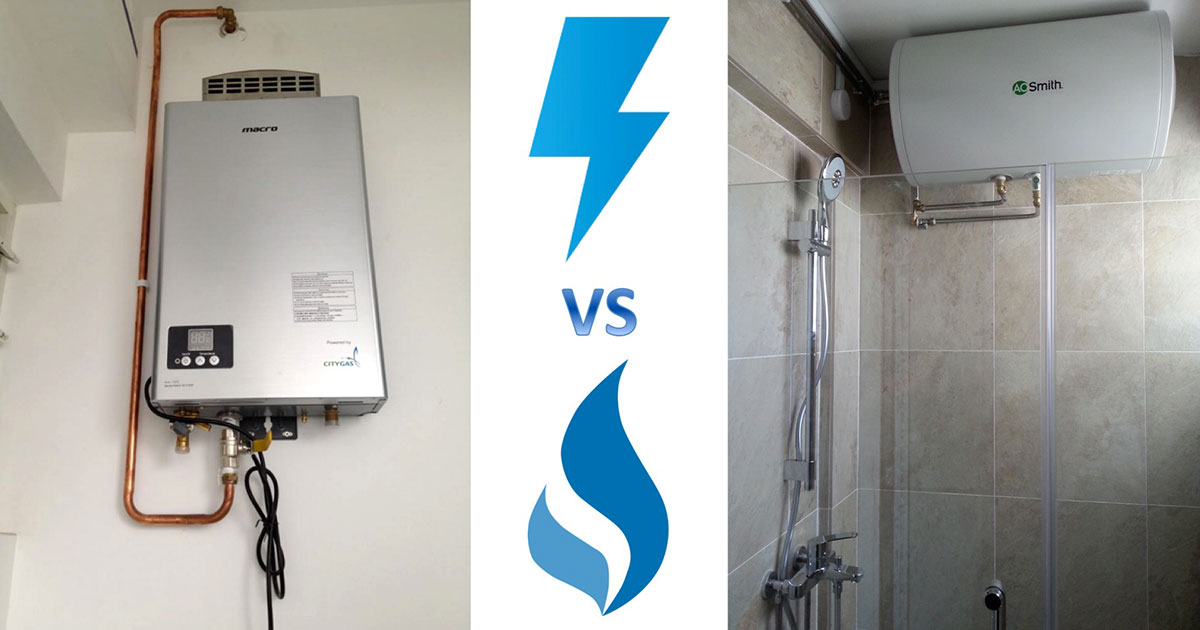 Gas Vs Electric Water Heaters