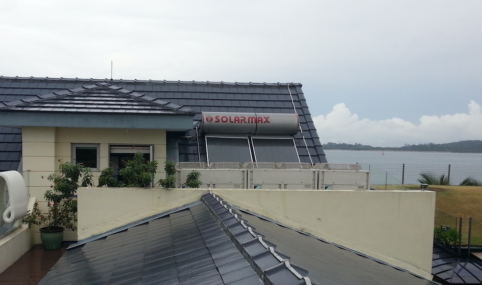 Solar Water Heater in Singapore | AOS Bath