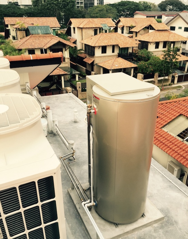 Centralized Water Heater in SIngapore | AOS Bath