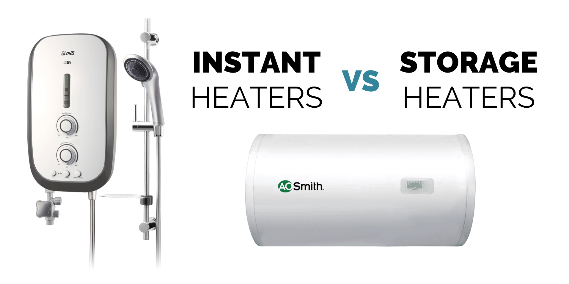 Instant vs storage water heaters in singapore aos bath Instant water heater