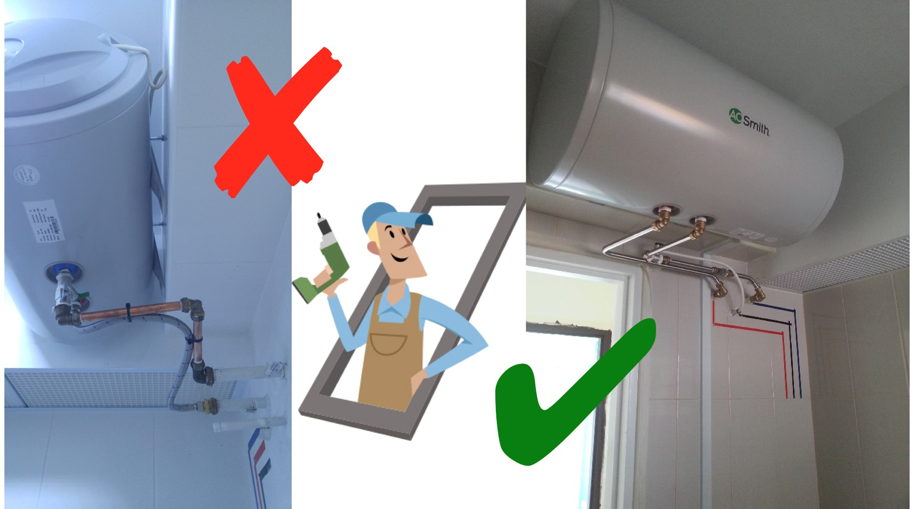 4 Point Checklist Water Heater Installation Aos Bath